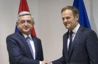 Армения договорилась о новом соглашении с ЕС о сотрудничестве без ассоциации