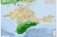 МінТОТ повідомило про різке скорочення рослинності в Криму