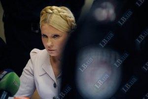 Тимошенко не обижается на мебель, которая называет себя судьей