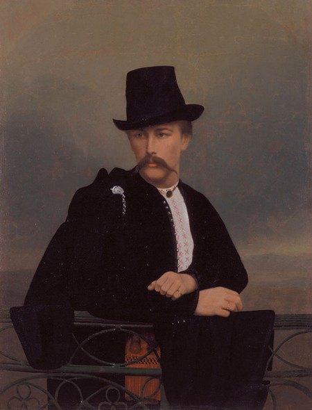 Андрій Горонович «Портрет Василя Тарновського», 1860-ті роки. НХМУ
