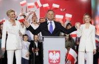 Дуда лідирує на виборах президента Польщі