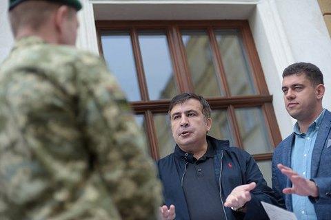 В Госпогранслужбе опровергли заявление Саакашвили о задержании его сына в аэропорту