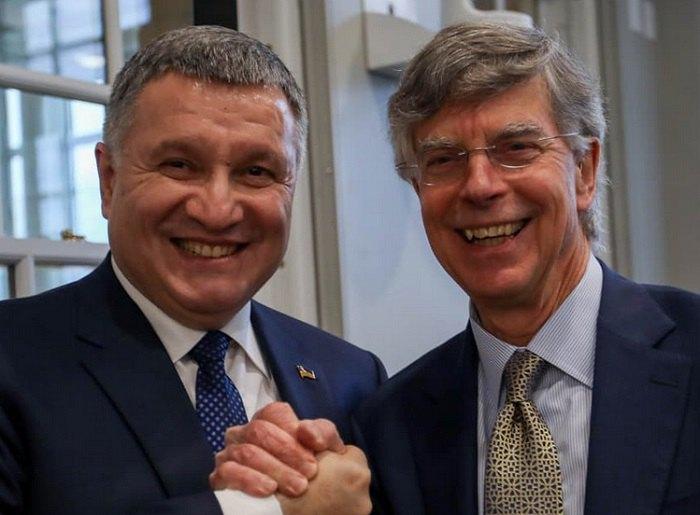 Арсен Аваков и посол Уильям Тейлор