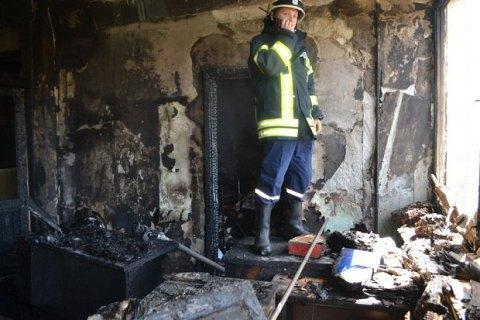 ВОдесі горіла будівля Держакадемії будівництва і архітектури, постраждала студентка