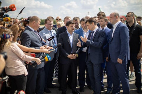 Зеленський пообіцяв гроші на реконструкцію аеропорту в Дніпрі