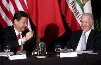 Президент Китая поздравил Байдена с победой на выборах