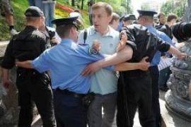 Янукович запретил митинги