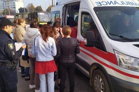Во Львове в ДТП с двумя маршрутками пострадали 10 человек