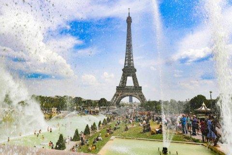 Западную Европу накрыла рекордная 40-градусная жара