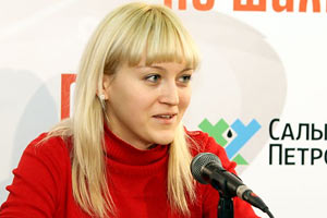 Украинская чемпионка мира по шахматам узнала о выделении квартиры в прямом эфире