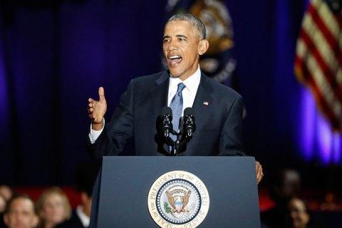 Обама нагадав, що санкції проти РФ ввели через Крим і Донбас