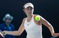 На US Open в одиночном разряде осталась единственная представительница Украины
