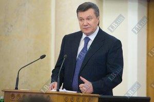 """Янукович: події навколо """"мови"""" занадто політизовані"""