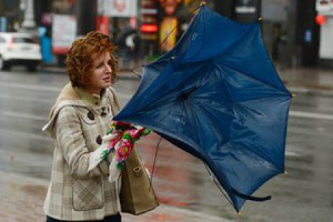 ДСНС попередила про сильні пориви вітру в Києві та області
