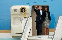 Барак Обама прилетел на землю предков в Ирландию