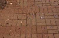 В центре Киева избили французских футбольных фанатов