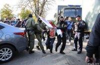 """На """"жіночому марші"""" у Мінську почались масові затримання (оновлено)"""