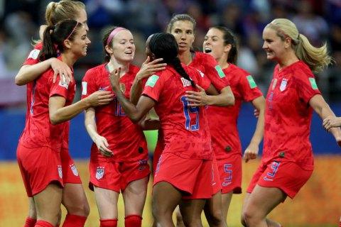 Женская сборная США по футболу на ЧМ-2019 побила рекорд чемпионатов мира по результативности за матч
