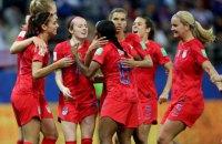 Жіноча збірна США з футболу на ЧС-2019 побила рекорд чемпіонатів світу за результативністю за матч