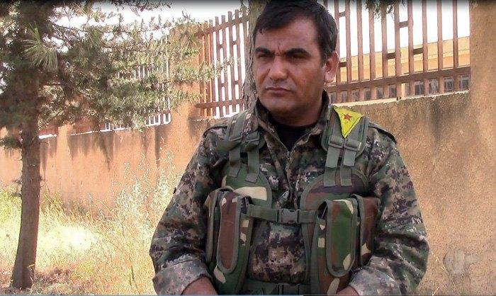 Лидер YPG Сипам Хемо
