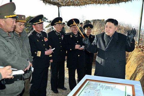 Кім Чен Ин заявив, що готується до війни з США і Південною Кореєю