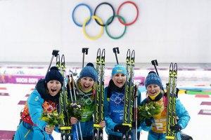 Українкам заплатили преміальні за медалі на сочинській Олімпіаді