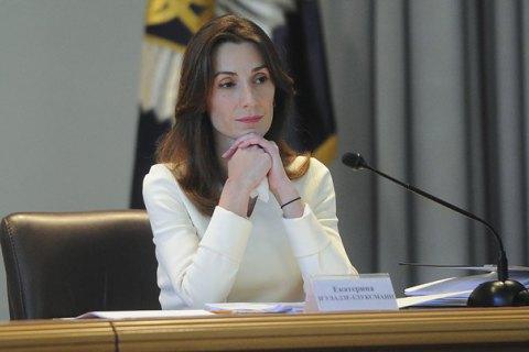 Деканоїдзе спростувала відставку заступниці голови МВС Згуладзе
