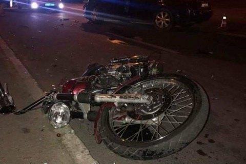 У Києві п'яний водій Subaru збив мотоцикліста