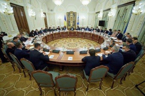 Зеленський увів нового головнокомандувача Збройних сил до складу РНБО