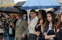 В понедельник в Украину придут дожди