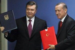 Янукович і Ердоган підписали угоду про вантажні перевезення