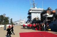 Пять военных кораблей НАТО прибыли в Грузию на учения