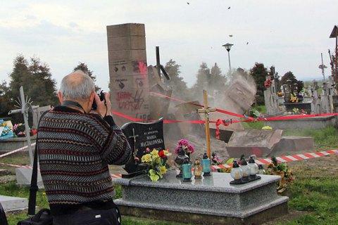 Университет нацпамяти Польши проведет раскопки наместе разрушенного монумента УПА вГрушовичах