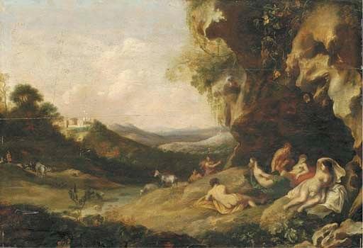 Аркадський пейзаж