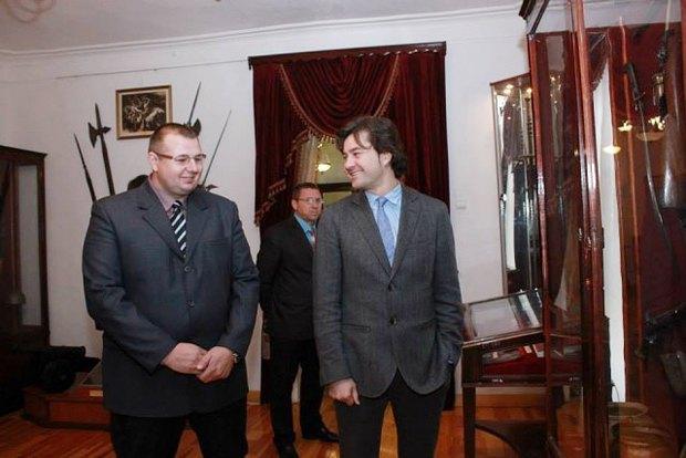 Алексей Лукашевич(слева) и Евгений Нищук