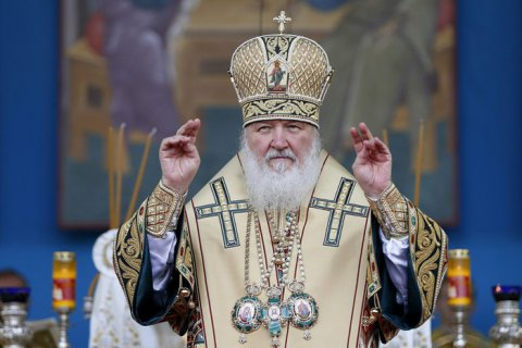 Патріарх Кирило поскаржився Меркель, Макрону і генсеку ООН на Україну