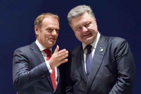 Стала известна дата встречи Порошенко с Туском
