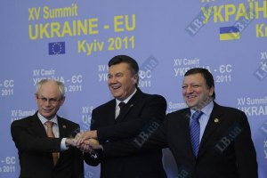 Янукович встретился с лидерами Евросоюза