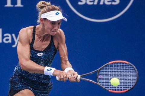 Второе украино-российское противостояние на Мастерсе в Цинциннати закончилось победой нашей теннисистки