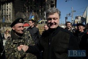 Порошенко не считает Тимошенко своим политическим оппонентом