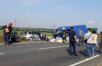 В ДТП под Коломыей погибла женщина и двое маленьких детей