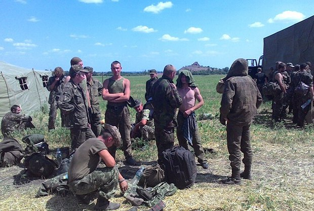 Часть 72-ой бригады на территории России