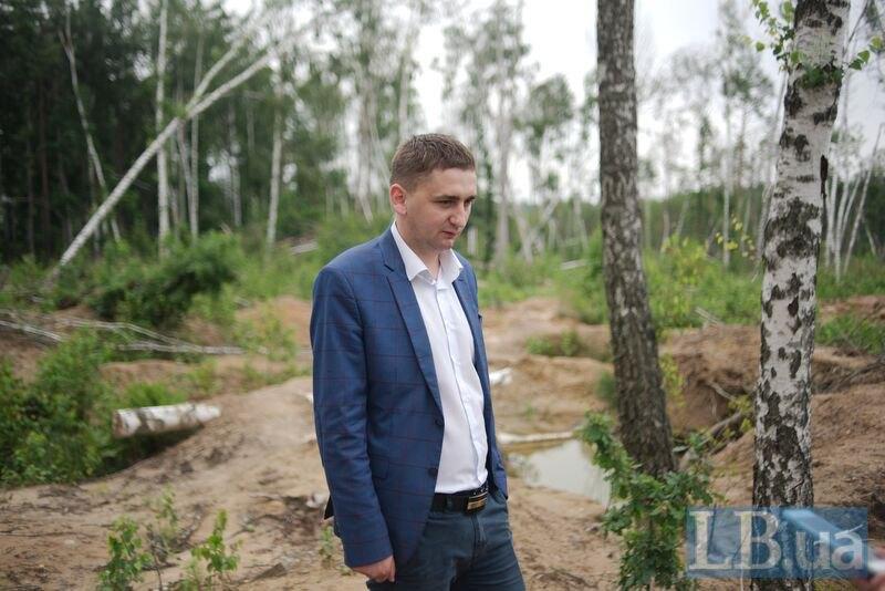 Заступник голови Олевської міськради Олександр Ніколайчук