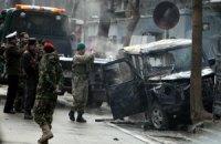 В Кабуле террорист-смертник атаковал конвой НАТО, есть жертвы