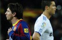 Роналду обігнав Мессі в рейтингу найбільш впізнаваних футболістів
