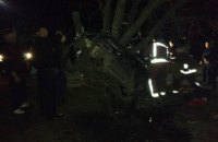 В Первомайске водитель погиб после столкновения с деревом, шесть пассажиров получили травмы