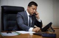 """Зеленський похвалився Помпео результатами режиму """"тиші"""" на Донбасі"""