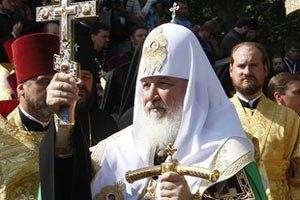 Патріарх Кирило проведе молебень на честь Путіна