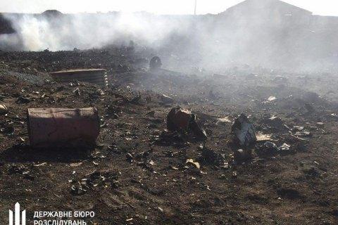 По делу о взрывах боеприпасов под Мариуполем объявили подозрение