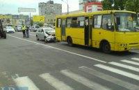 """Нетрезвый водитель без прав и документов на авто протаранил """"маршрутку"""""""